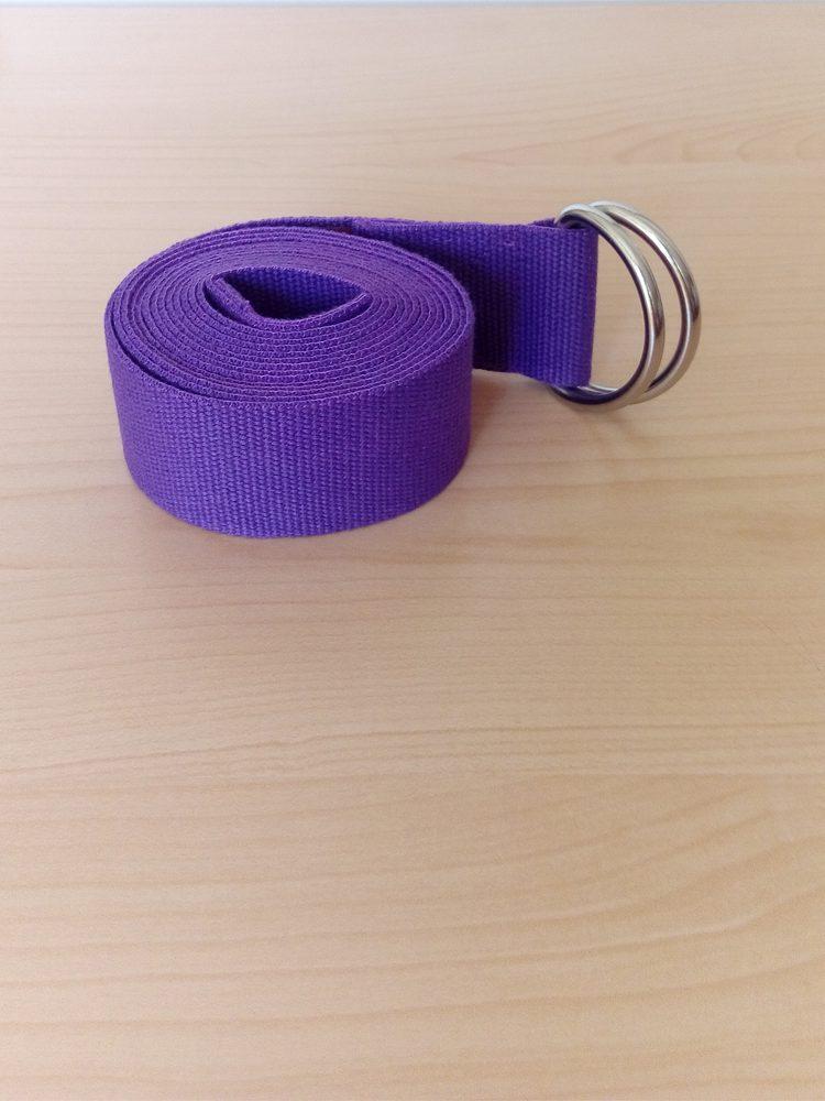 лилав колан за йога