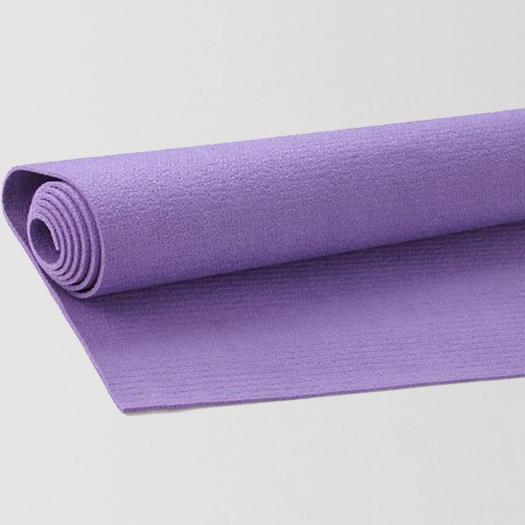 лилава постелка за йога