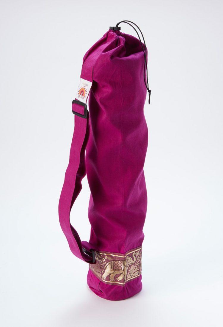 йога чанта с декорация слончета